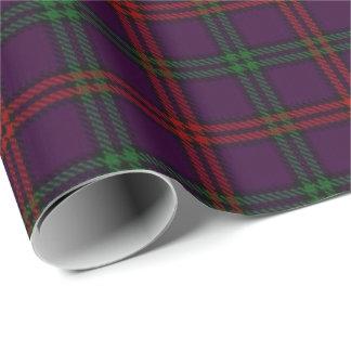 Papier Cadeau Tartan d'écossais de Montgomery de clan
