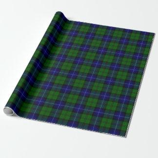 Papier Cadeau Tartan d'Urqhart de clan