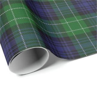 Papier Cadeau Tartan écossais d'Abercrombie de clan