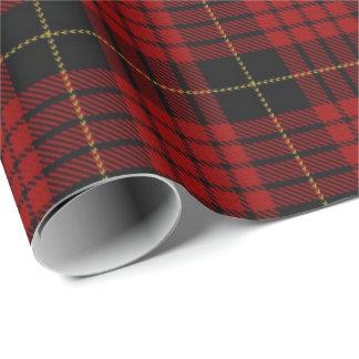Papier Cadeau Tartan écossais de MacQueen de clan