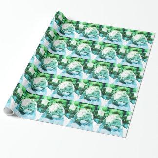 Papier Cadeau Technologie futuriste de la Science comme art de