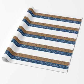 Papier Cadeau Terres marines