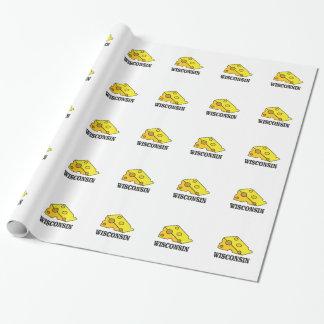 Papier Cadeau Tête de fromage du Wisconsin
