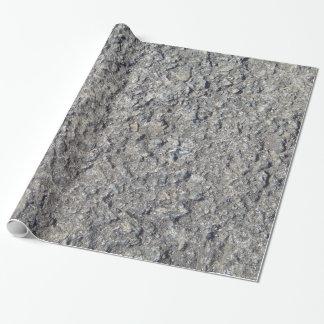 Papier Cadeau Texture concrète approximative grise 060