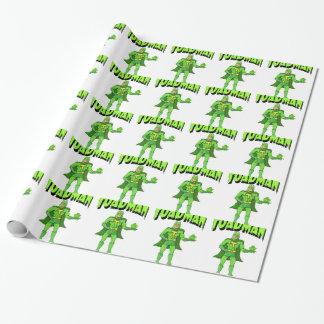 Papier Cadeau Toadman