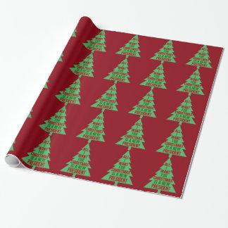 Papier Cadeau Tout que je veux pour Noël est un nouveau