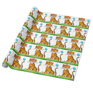 Papier Cadeau Trésor de tigre