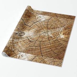 Papier Cadeau Tronçon d'arbre
