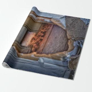 Papier Cadeau Trou dans le mur