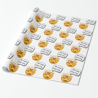 Papier Cadeau un atout à partir - d'Emoji