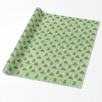 Papier Cadeau Un-cadre et pin
