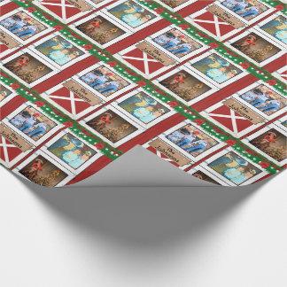 Papier Cadeau Vacances faites sur commande de pays de grange de