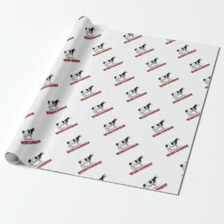 Papier Cadeau vache rouge au Wisconsin
