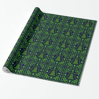 Papier Cadeau Verre souillé bleu-vert de Raincross