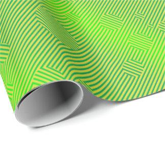 Papier Cadeau Vert de Carnaby