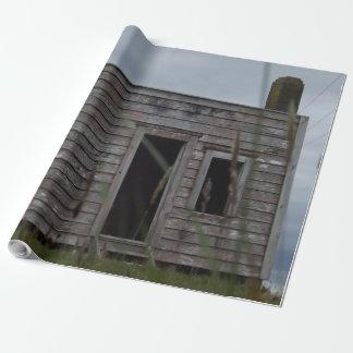 Papier Cadeau vieille cabane