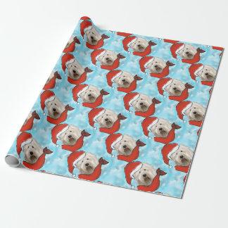 Papier Cadeau Vieux chien de moutons anglais