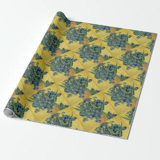 Papier Cadeau Vincent van Gogh - oeuvre d'art d'iris
