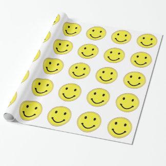 Papier Cadeau Visage souriant