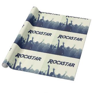 Papier Cadeau Vous êtes un Rockstar !