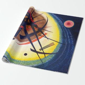 Papier Cadeau Wassily Kandinsky dans l'ovale lumineux