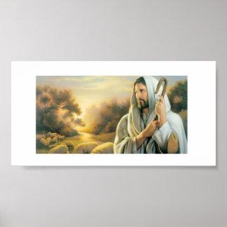 Papier d'affiche - logo de foi d'église posters