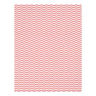 Papier de corail de Chevron/album à zigzag Prospectus 21,6 Cm X 24,94 Cm