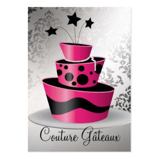 Papier de la meilleure qualité de perle de Gâteaux Carte De Visite Grand Format
