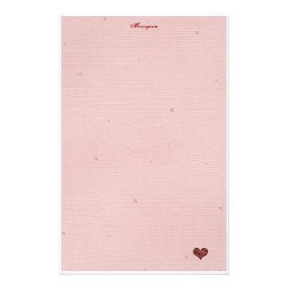 Papier de lettre d'amour ! papier à lettre customisable