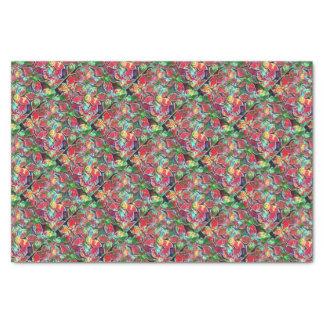 papier de poinsetta papier mousseline
