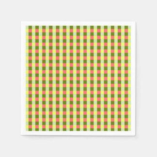 Papier de serviettes de contrôle de pastèque serviettes jetables