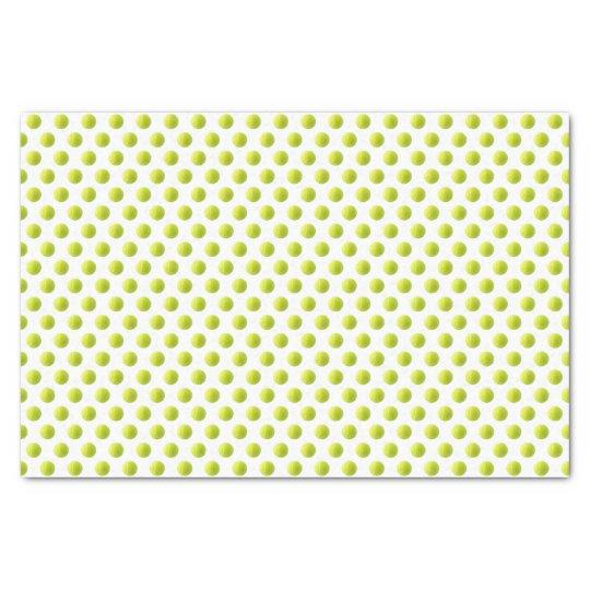 Papier de soie de soie de balle de tennis