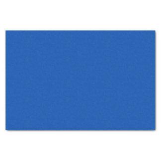 Papier de soie de soie de bleu de cobalt
