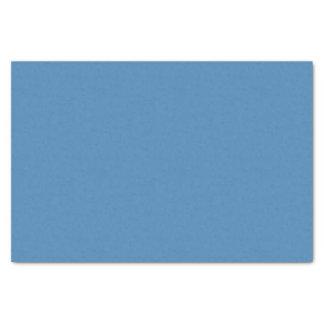 Papier de soie de soie de bleu en acier