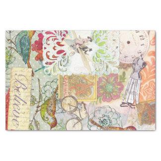 papier de soie de soie de cadeau
