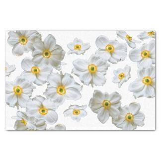 Papier de soie de soie de cadeau de fleurs