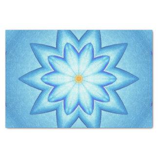 Papier de soie de soie de fleur de kaléidoscope de