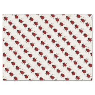 Papier de soie de soie de Ladybird