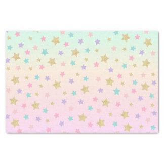 Papier de soie de soie de licorne