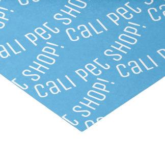 Papier de soie de soie de magasin de bêtes de Cali