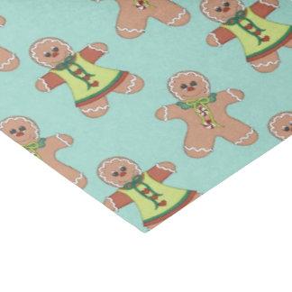 Papier de soie de soie de motif de vacances de papier mousseline 38,1 x 50,8 cm