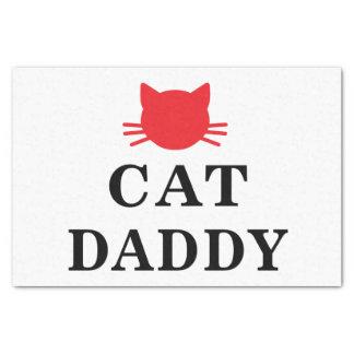 Papier de soie de soie de papa de chat