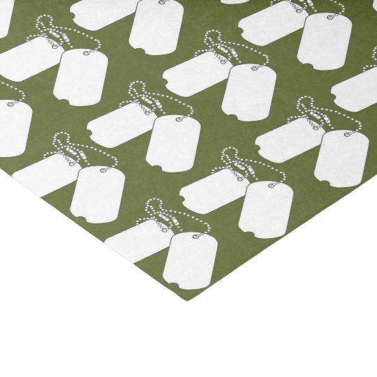 Papier de soie de soie de partie de camouflage de