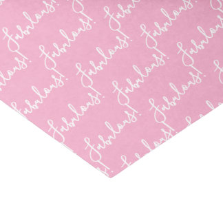Papier de soie de soie fabuleux rose de partie de