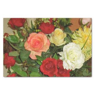 papier de soie de soie floral
