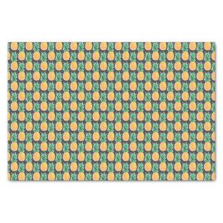 Papier de soie de soie géométrique tropical
