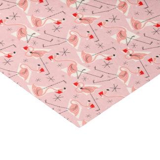 Papier de soie de soie multi rose de Santa de
