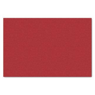 Papier de soie de soie rouge foncé moyen