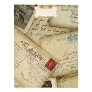 papier de voyage pour l album à voyage tract customisé