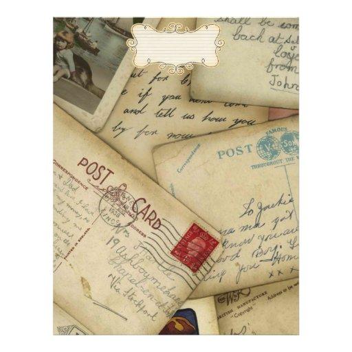 papier de voyage pour l'album à voyage tract customisé